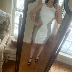 Like new condition white and gray dress from Tart